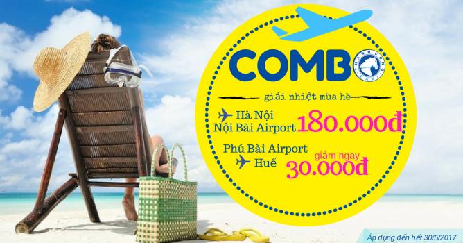 Chương trình Combo Sân bay - Giải nhiệt mùa hè cùng Thành Công Taxi