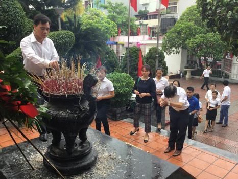 Công đoàn Taxi Thành Công có nhiều hoạt động ý nghĩa kỷ niệm 71 năm Ngày Thương binh - Liệt sĩ (27/7/1947 - 27/7/2018)