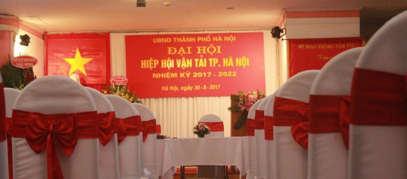 Đại hội Hiệp hội vận tải thành phố Hà Nội nhiệm kỳ 2017 – 2022