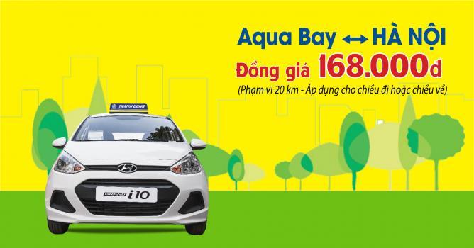 Đồng giá dịch vụ Thành Công Taxi tại AQUABAY ECOPARK - Mức giá siêu tiết kiệm