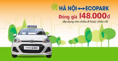 Đồng giá dịch vụ Thành Công Taxi tại Ecopark - Mức giá siêu tiết kiệm