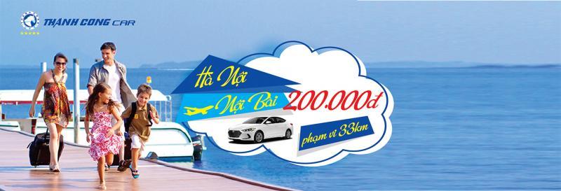 Đồng giá sân bay, nhớ ngay 57 - Ưu đãi đặc biệt tuyến đi sân bay của Thành Công Taxi tại Hà Nội