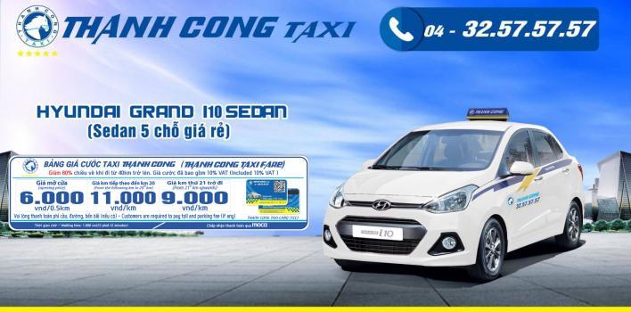 Giá cước Thành Công Taxi Hà Nội