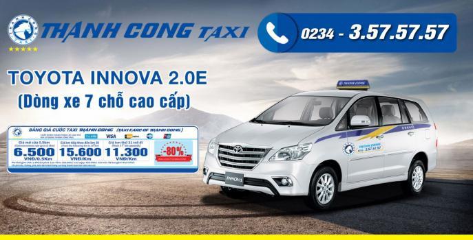 Giá cước Thành Công Taxi Huế