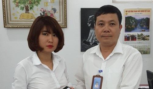 Taxi Thành Công hoàn trả lại đồ cho khách hàng