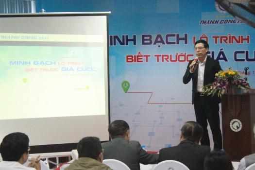 Taxi Thành Công ra mắt sản phẩm: Minh bạch lộ trình - Biết trước giá cước