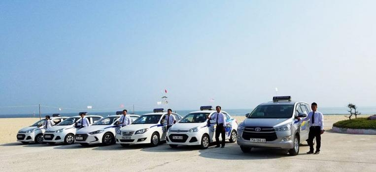 Thành Công Taxi Huế chính thức ra mắt đội taxi tại khu vực biển Thuận An