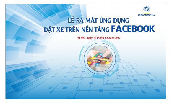 [Xedoisong.vn] Lần đầu tiên có thể đặt taxi tại Việt Nam qua ứng dụng chat của Facebook
